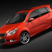 Chevrolet Aveo Sport 3d model
