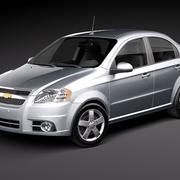 Chevrolet Aveo Sedan 3d model