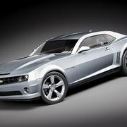 Chevrolet Camaro ss 3d model