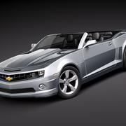 Chevrolet Camaro Convertible 2010 3d model