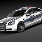 Chevrolet Caprice - Impala Police Patrol Vehicle USA 2011 3d model