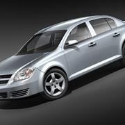 Berlina Chevrolet Cobalt 2006-2009 3d model