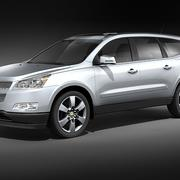 Chevrolet Traverse mid-poly 3d model