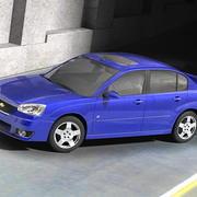 Chevrolet Malibu 2006-2010 3d model
