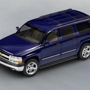 Chevrolet Suburban 2002-2006 3d model