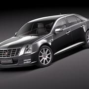 Cadillac SLS 3d model