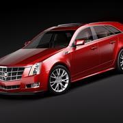 Cadillac CTS Sport Wagon 3d model