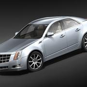 Cadillac CTS 2009 3d model