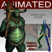 daemon giant 3d model