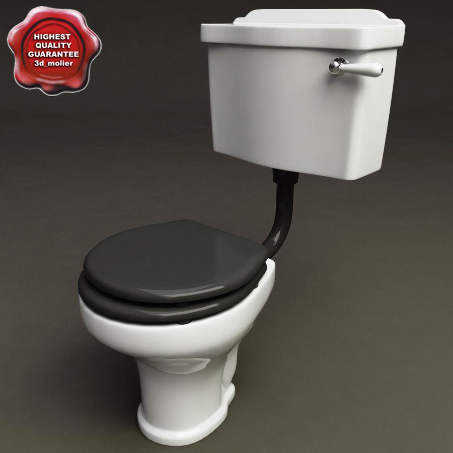 Toilette V3 modèle 3D $38 - .xsi .obj .ma .max .lwo .fbx .c4d .3ds ...