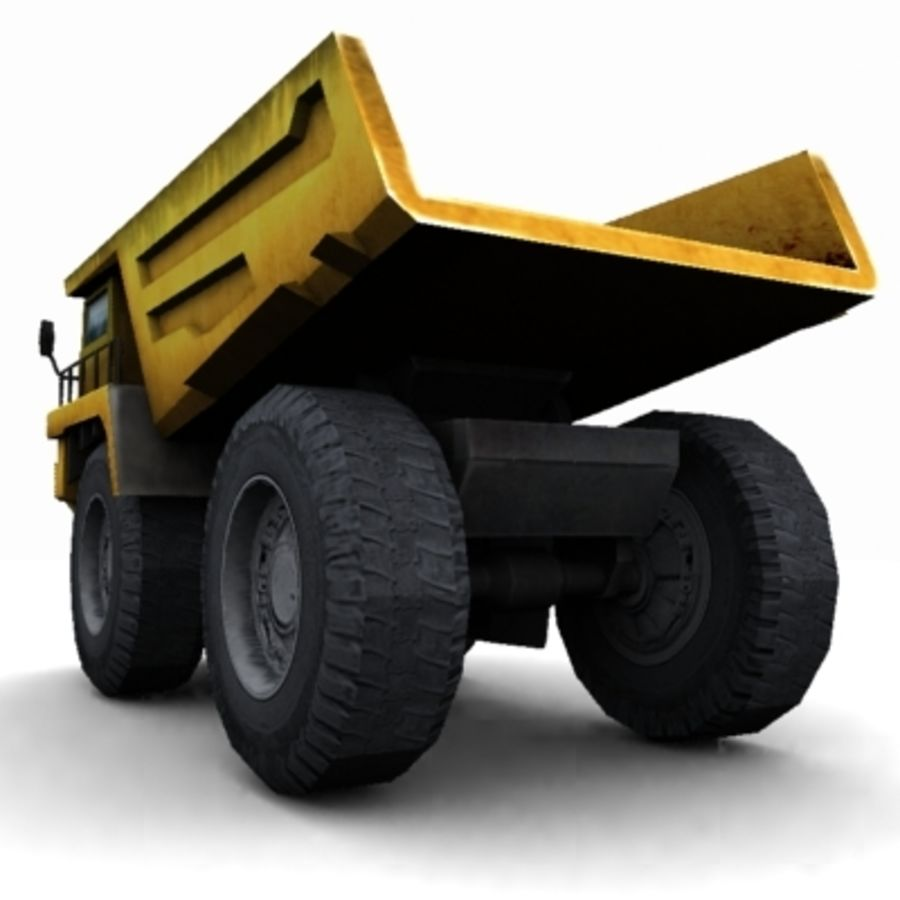 quarry truck royalty-free 3d model - Preview no. 4