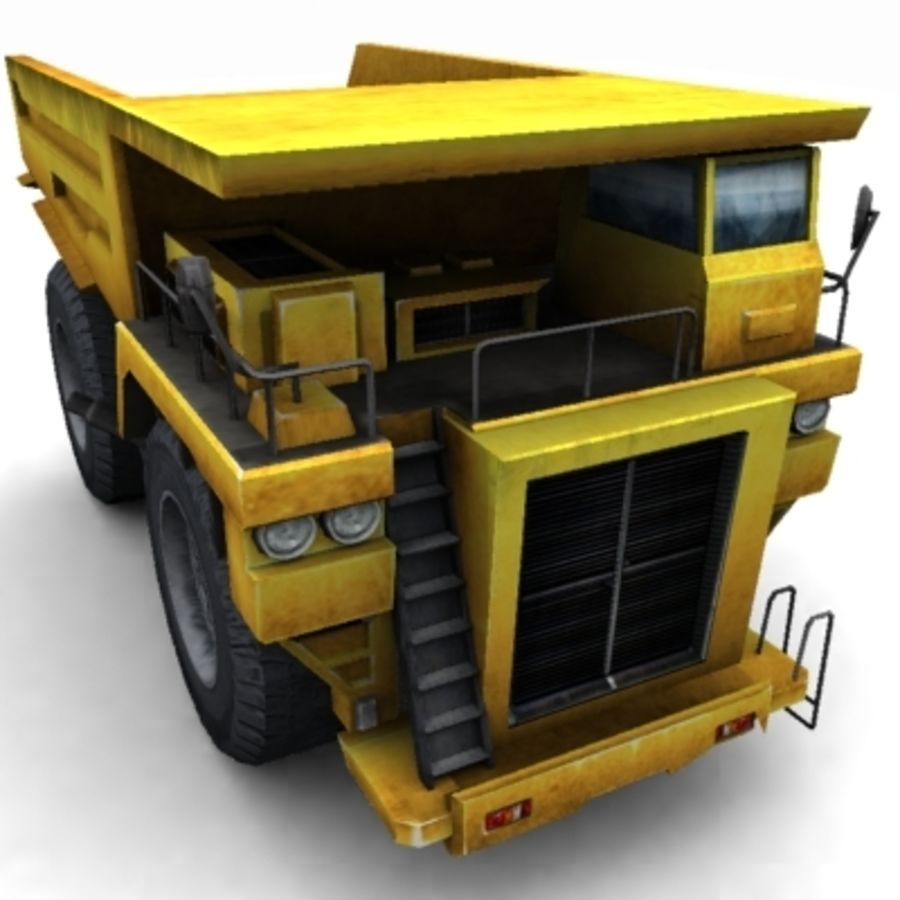 quarry truck royalty-free 3d model - Preview no. 5