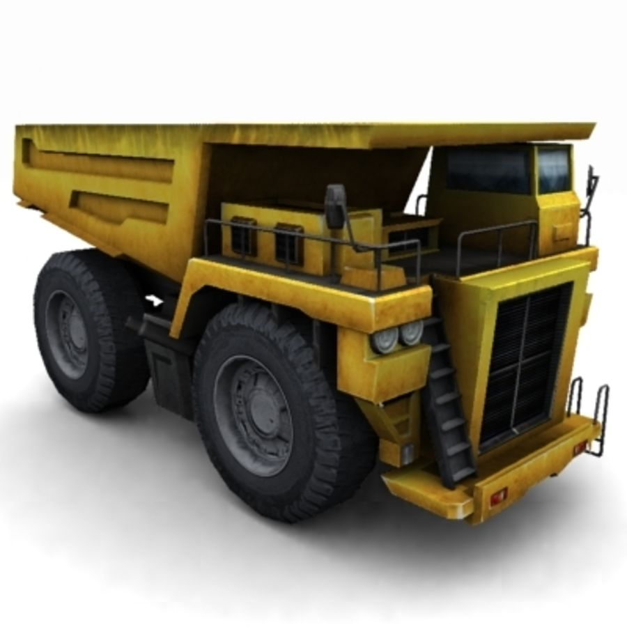 quarry truck royalty-free 3d model - Preview no. 1