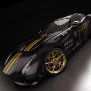 Racing Zagato Perana Z-One 2010 modelo 3d