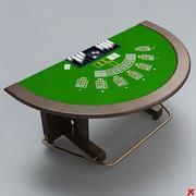 Cartão de mesa007 3d model