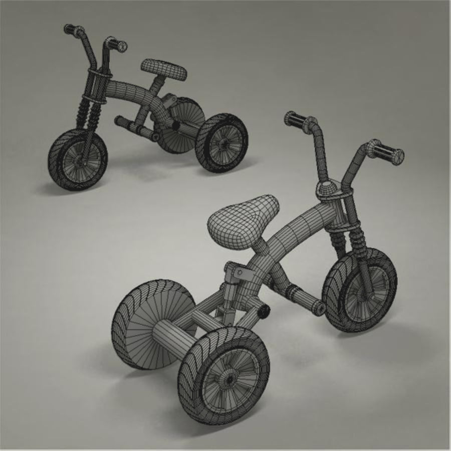 Tricycle royalty-free 3d model - Preview no. 8