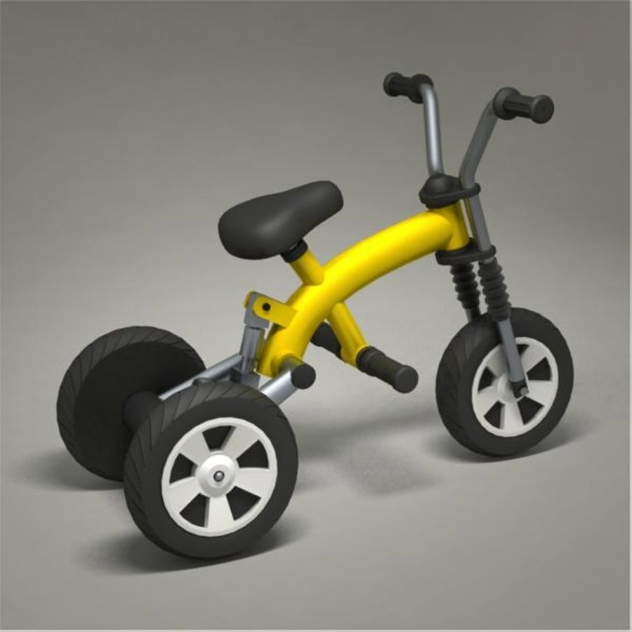 Tricycle royalty-free 3d model - Preview no. 6