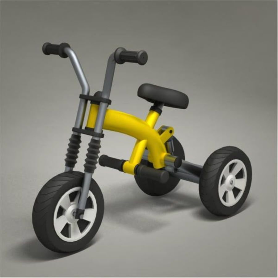 Tricycle royalty-free 3d model - Preview no. 1