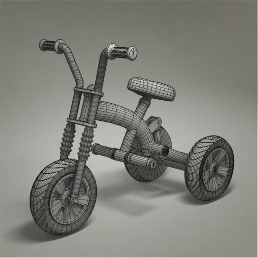 Tricycle royalty-free 3d model - Preview no. 9