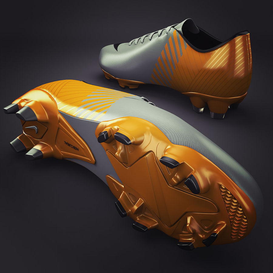 Soccer Shoes - Cleats royalty-free 3d model - Preview no. 2
