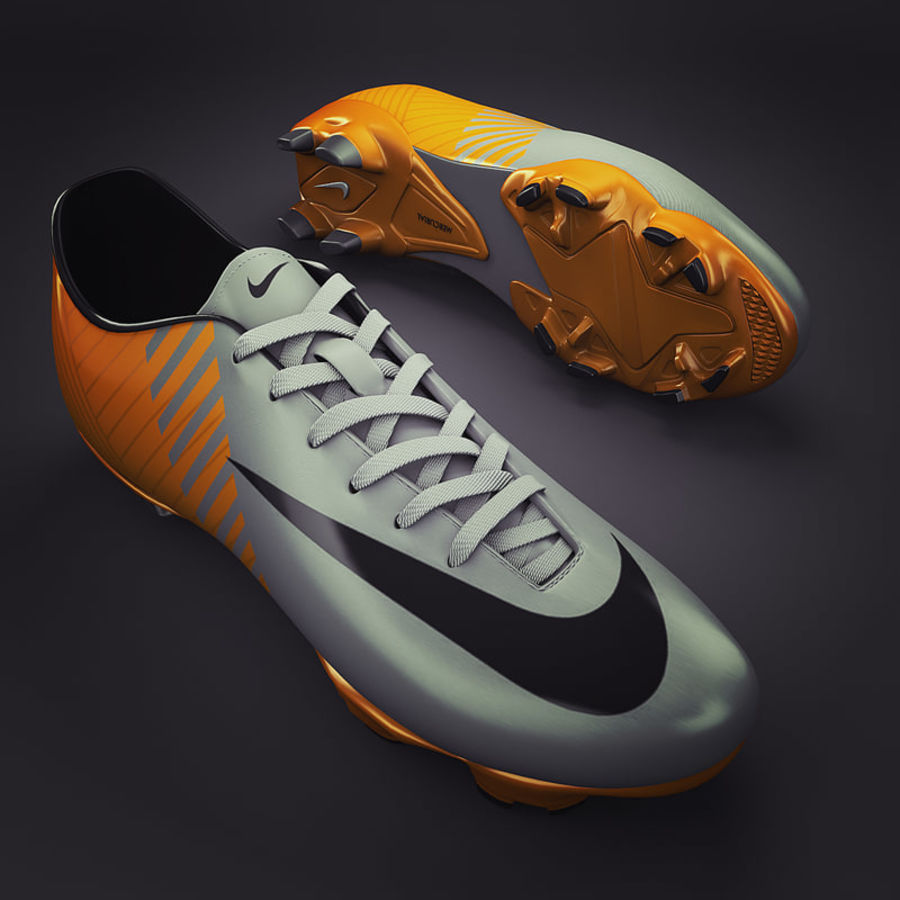 Soccer Shoes - Cleats royalty-free 3d model - Preview no. 1