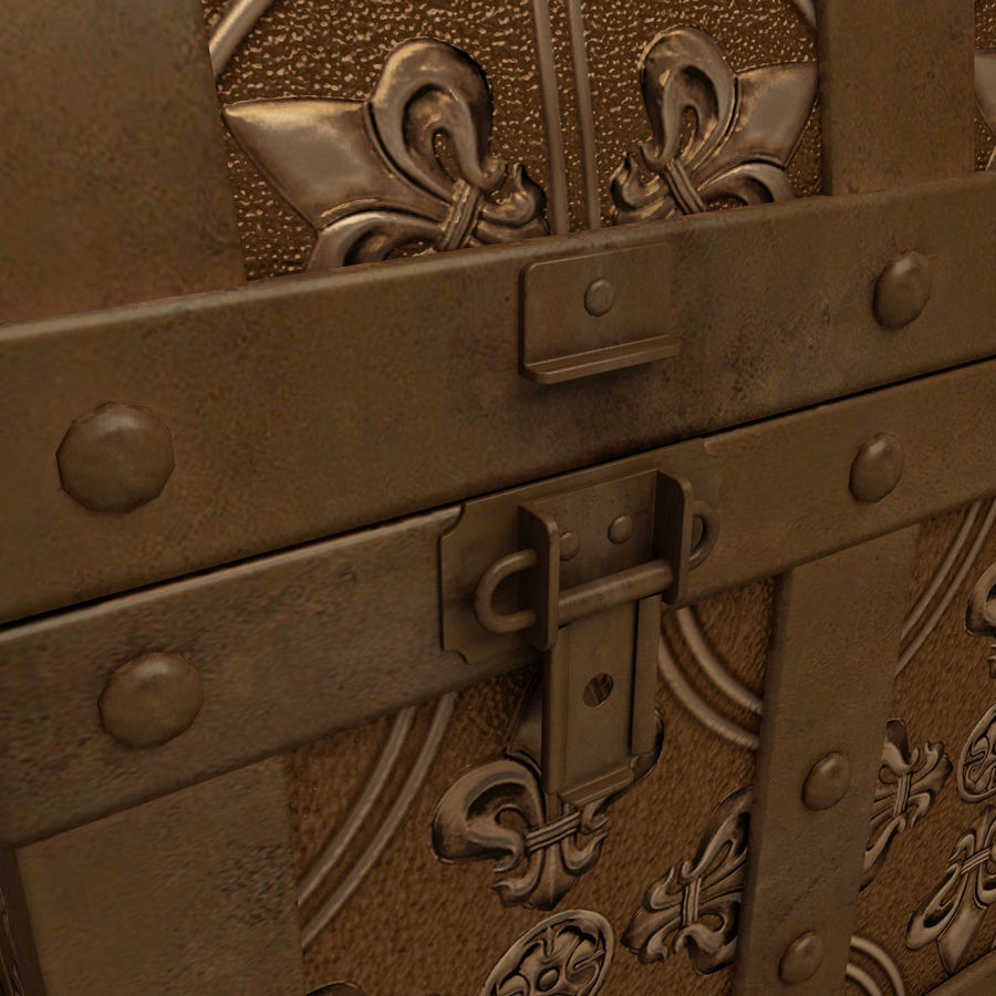 Chest royalty-free 3d model - Preview no. 10