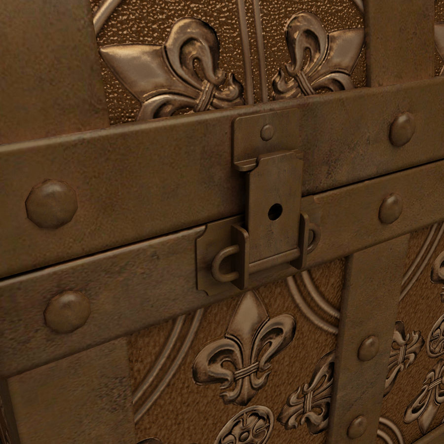 Chest royalty-free 3d model - Preview no. 11