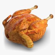 Pollo asado modelo 3d