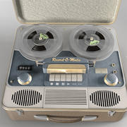Retro Reel-to-Reel 3d model