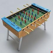 Fussball table02 3d model