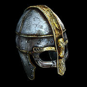 Casque Viking 3d model