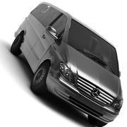 Mercedes Viano Van 3d model