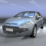 Fiat punto EVO car 3d model