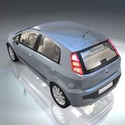 Voiture Fiat punto EVO 3d model