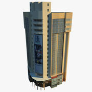 Edificio Low Poly 48 3d model
