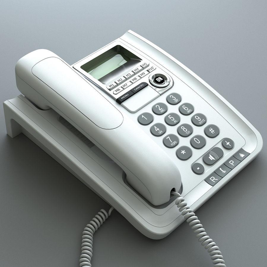 Telefono 2 royalty-free 3d model - Preview no. 2