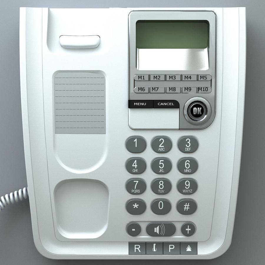 Telefono 2 royalty-free 3d model - Preview no. 5