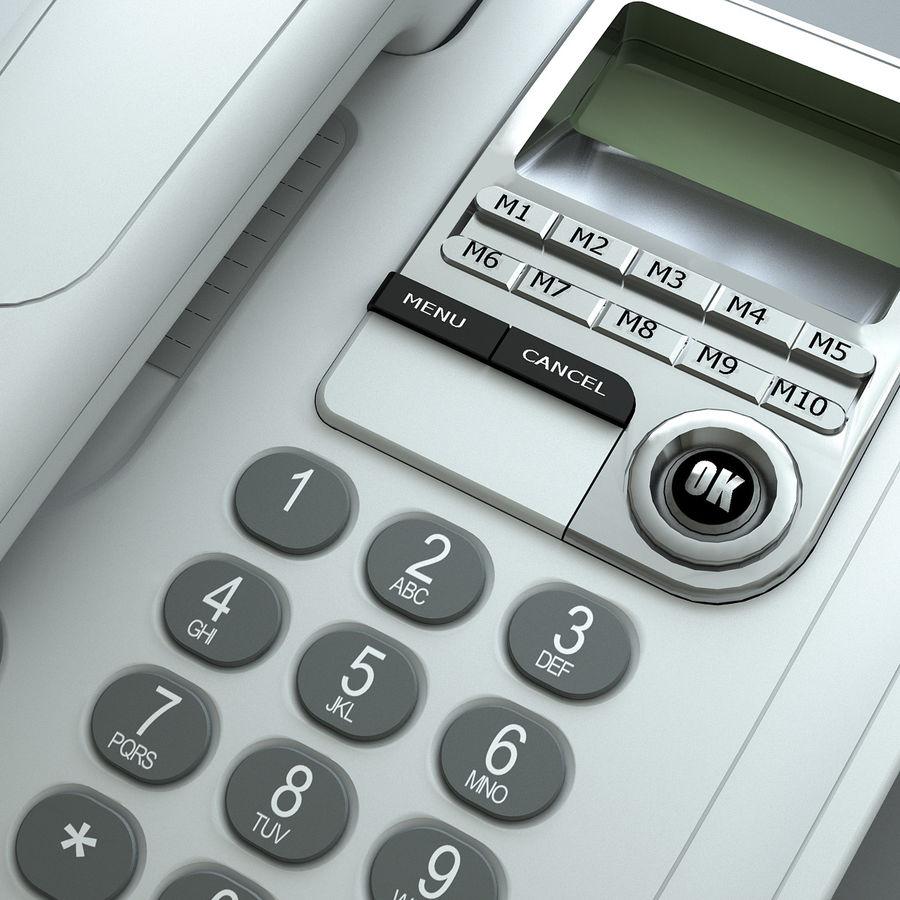 Telefono 2 royalty-free 3d model - Preview no. 3