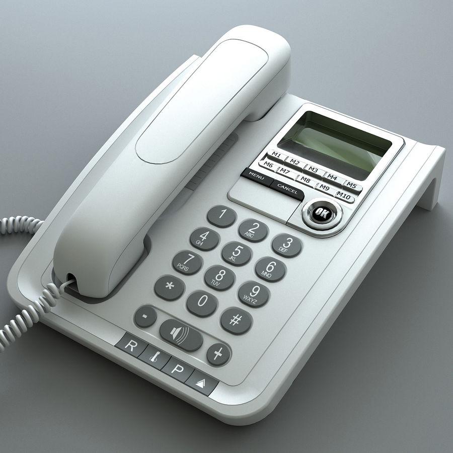 Telefono 2 royalty-free 3d model - Preview no. 1