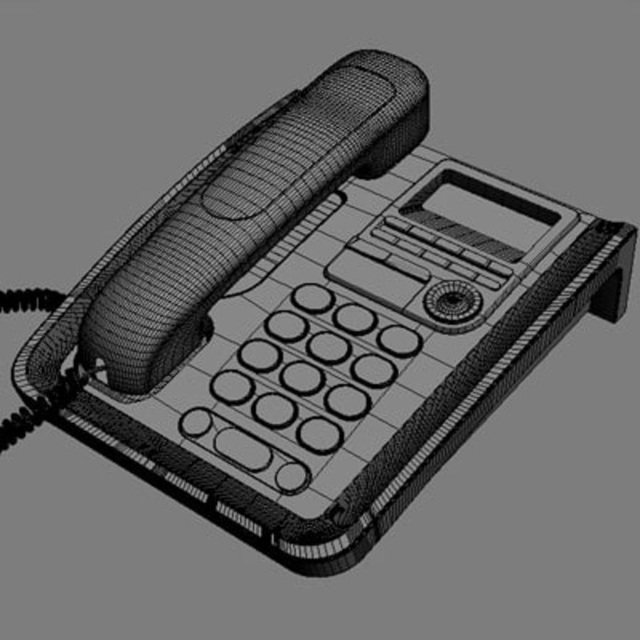 Telefono 2 royalty-free 3d model - Preview no. 6