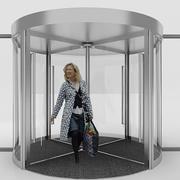 Revolving Door 3d model