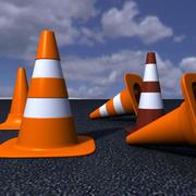Cones, Conos de Trafico 3d model