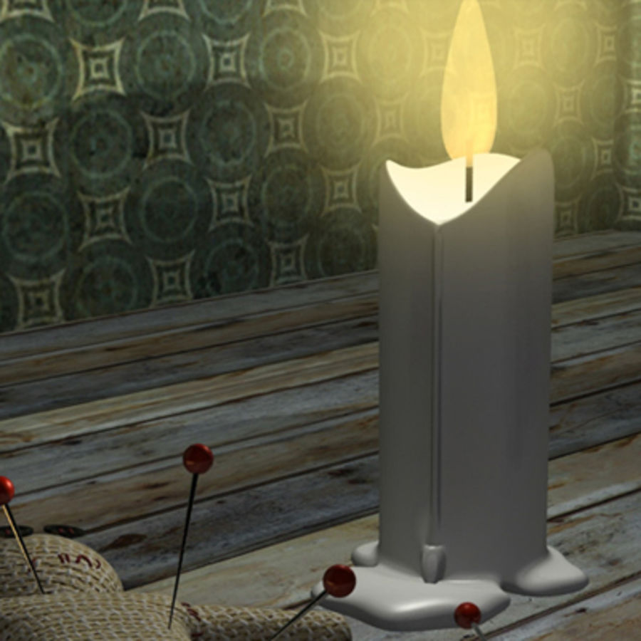 voodoo doll ritual royalty-free 3d model - Preview no. 6