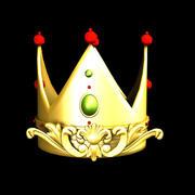 queen crown 3d model