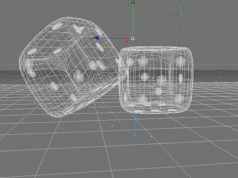 Gaming Cubes / Dice royalty-free 3d model - Preview no. 3