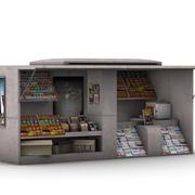 NewsStand 3d model