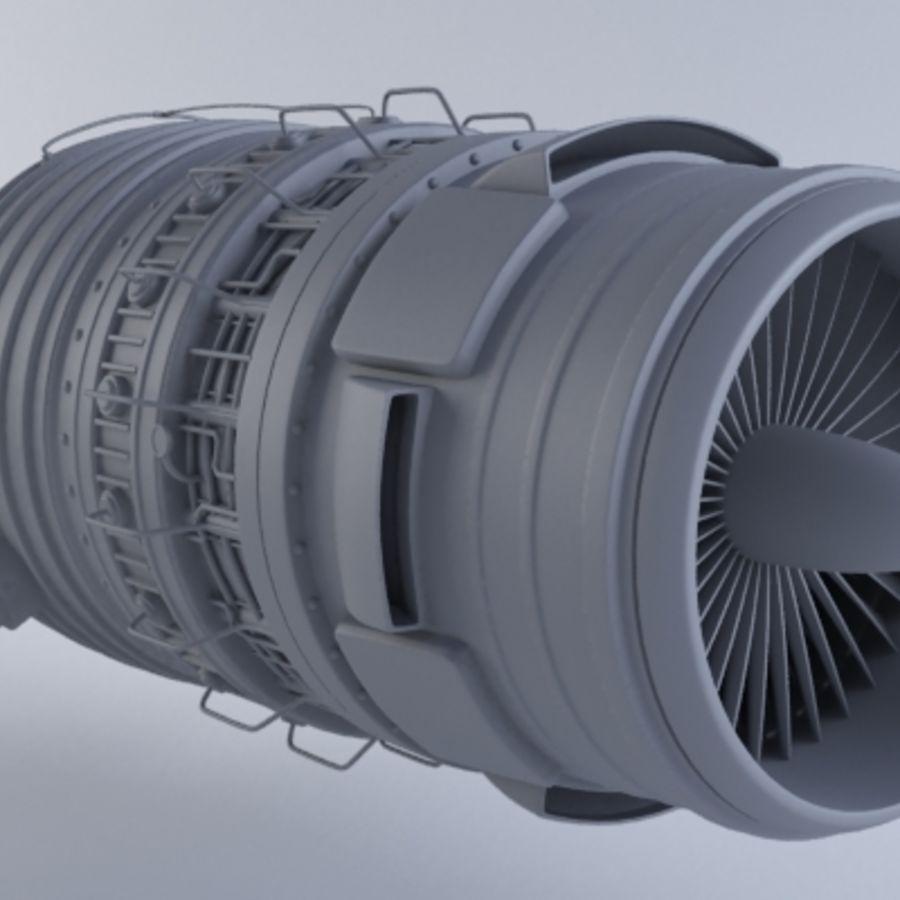 Motor a jato MKVb royalty-free 3d model - Preview no. 5