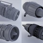 喷气发动机MKVb 3d model
