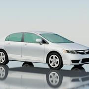 Honda Civic Sedan 2009 modelo 3d