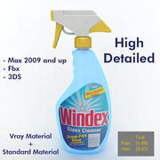 Glass Cleaner 3d model